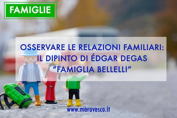 osservare le relazioni familiari