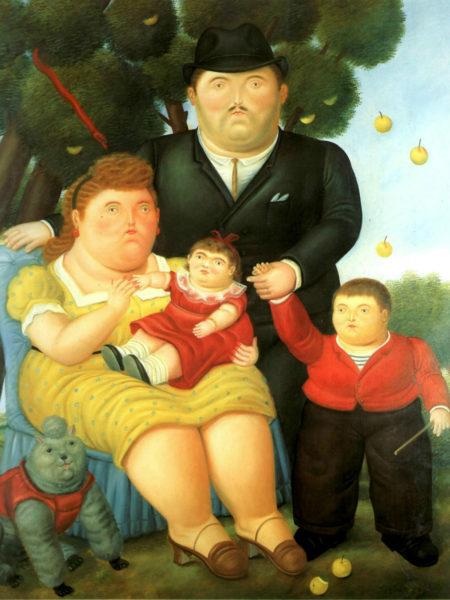 La-famiglia-di-Botero
